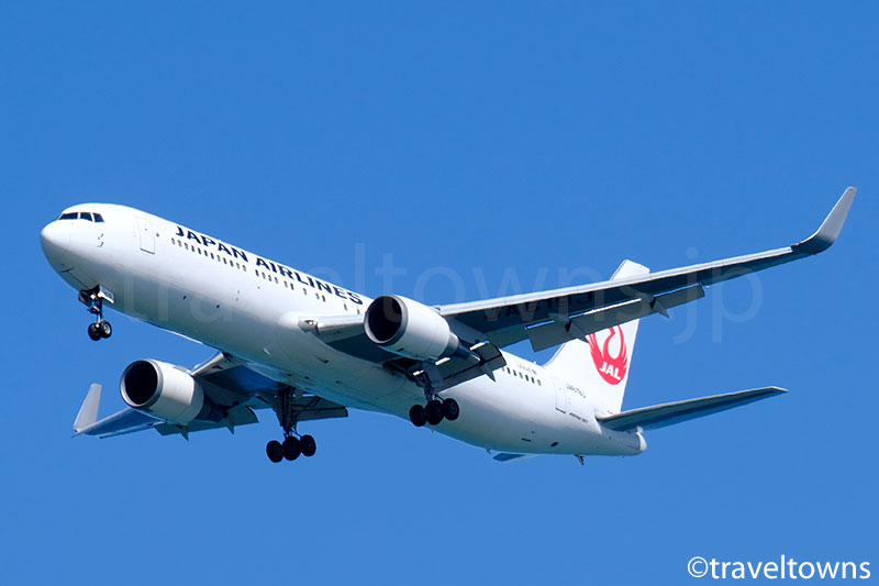JALのB767-300ER型機