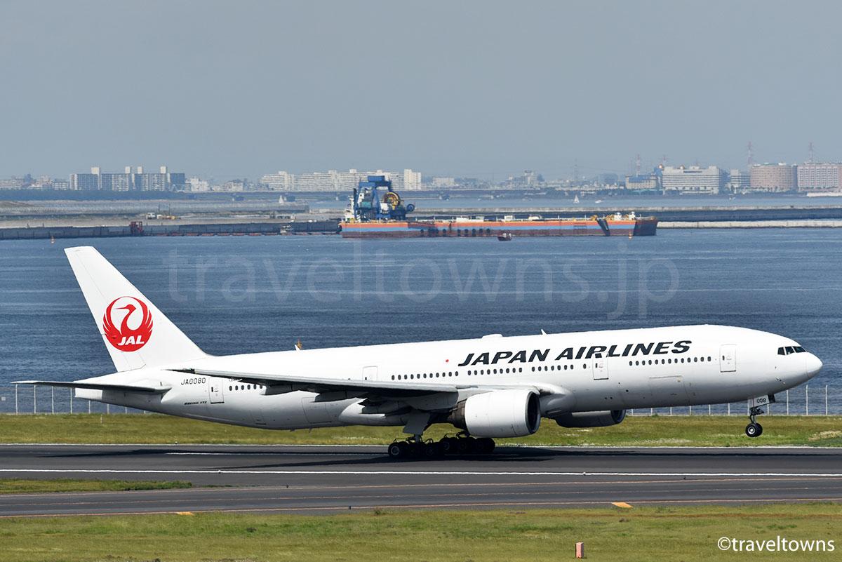 JALのB777-200型機
