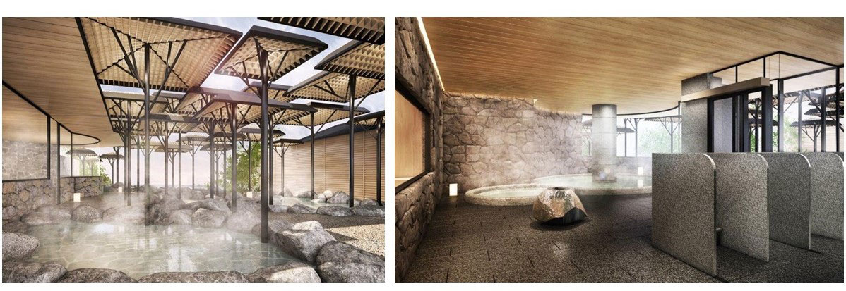 露天風呂 大浴場 イメージ