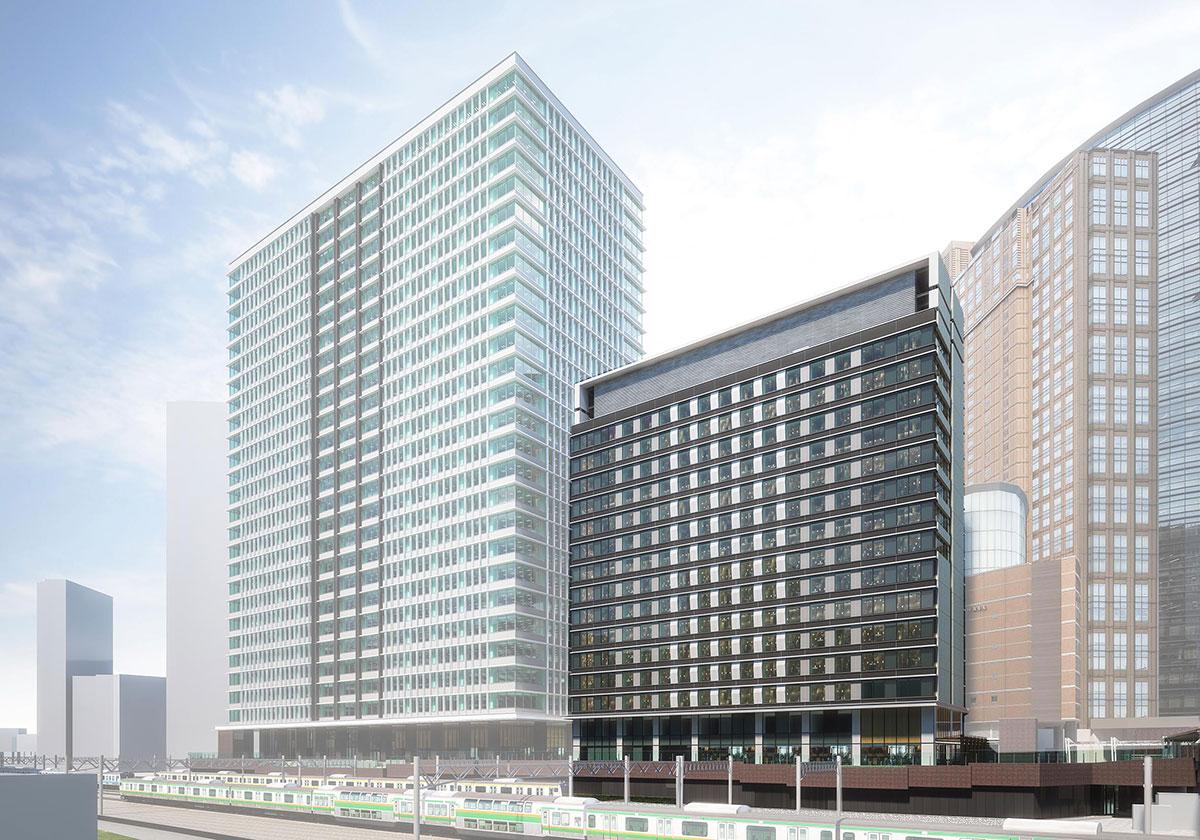 ホテルメトロポリタン 川崎の外観