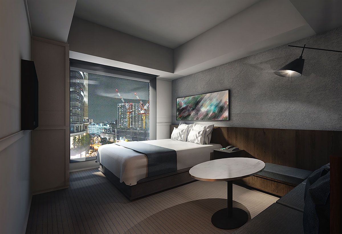 ホテルメトロポリタン 川崎のダブルタイプイメージ(約23~31平方メートル )