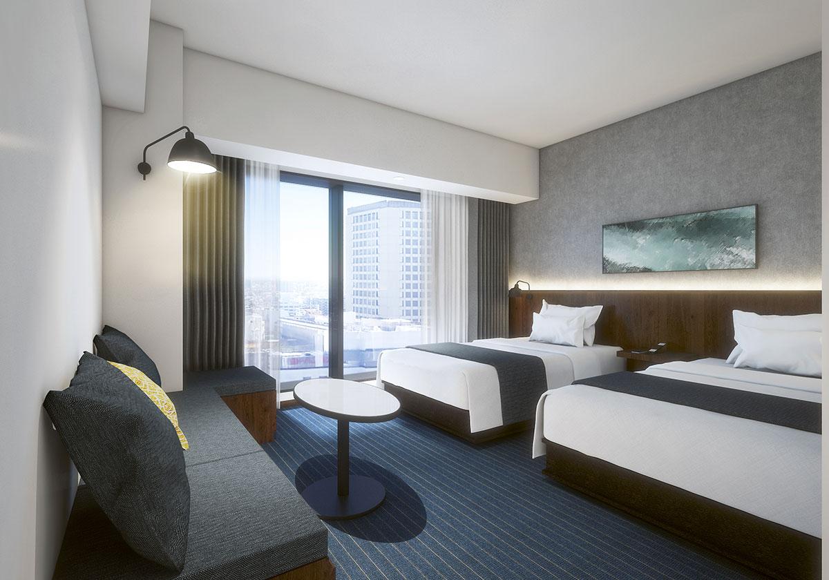 ホテルメトロポリタン 川崎のツインタイプイメージ(30~60平方メートル )