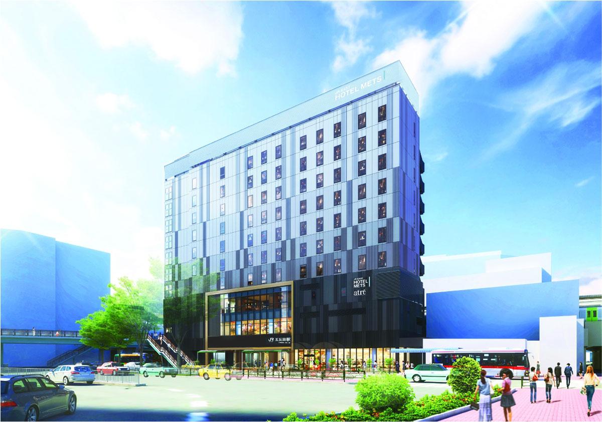 ホテルメッツ 五反田の外観イメージ