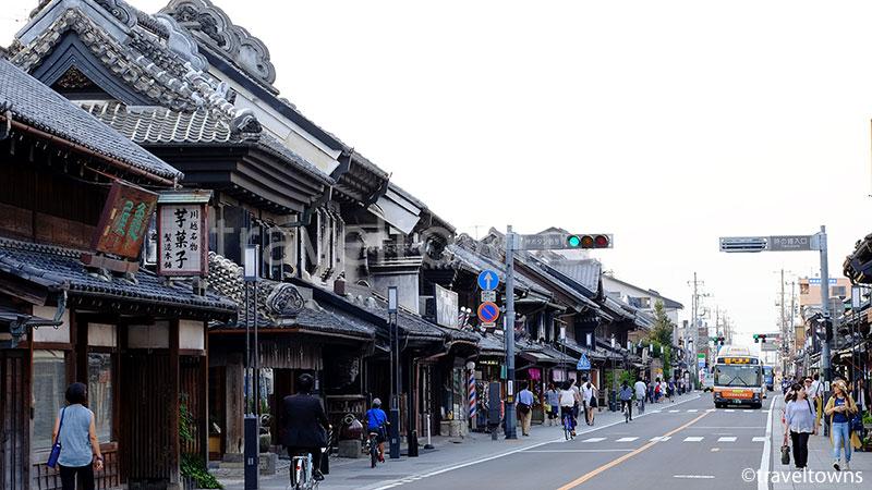 小江戸川越一番街(蔵造りの街並み)