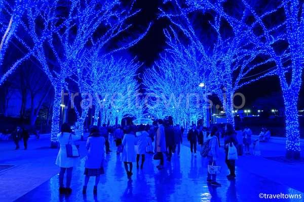 渋谷イルミネーション「青の洞窟 SHIBUYA」開催中、2017年12月31日まで