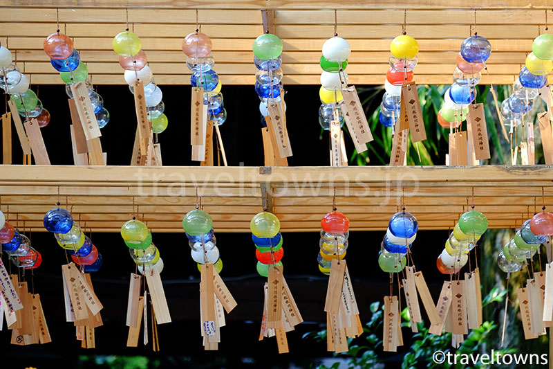 川越氷川神社で2016年の縁結び風鈴はじまる