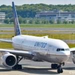 ユナイテッド航空のB777-200
