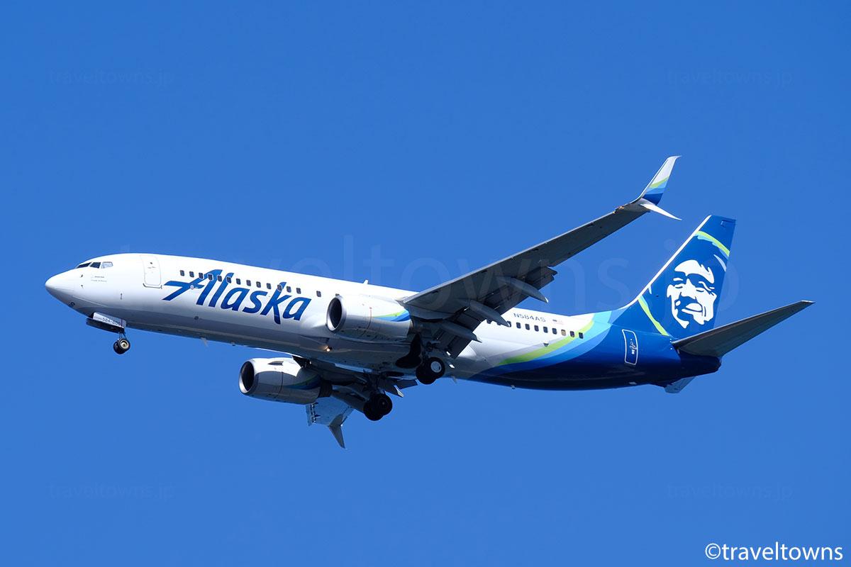 アラスカ航空の写真