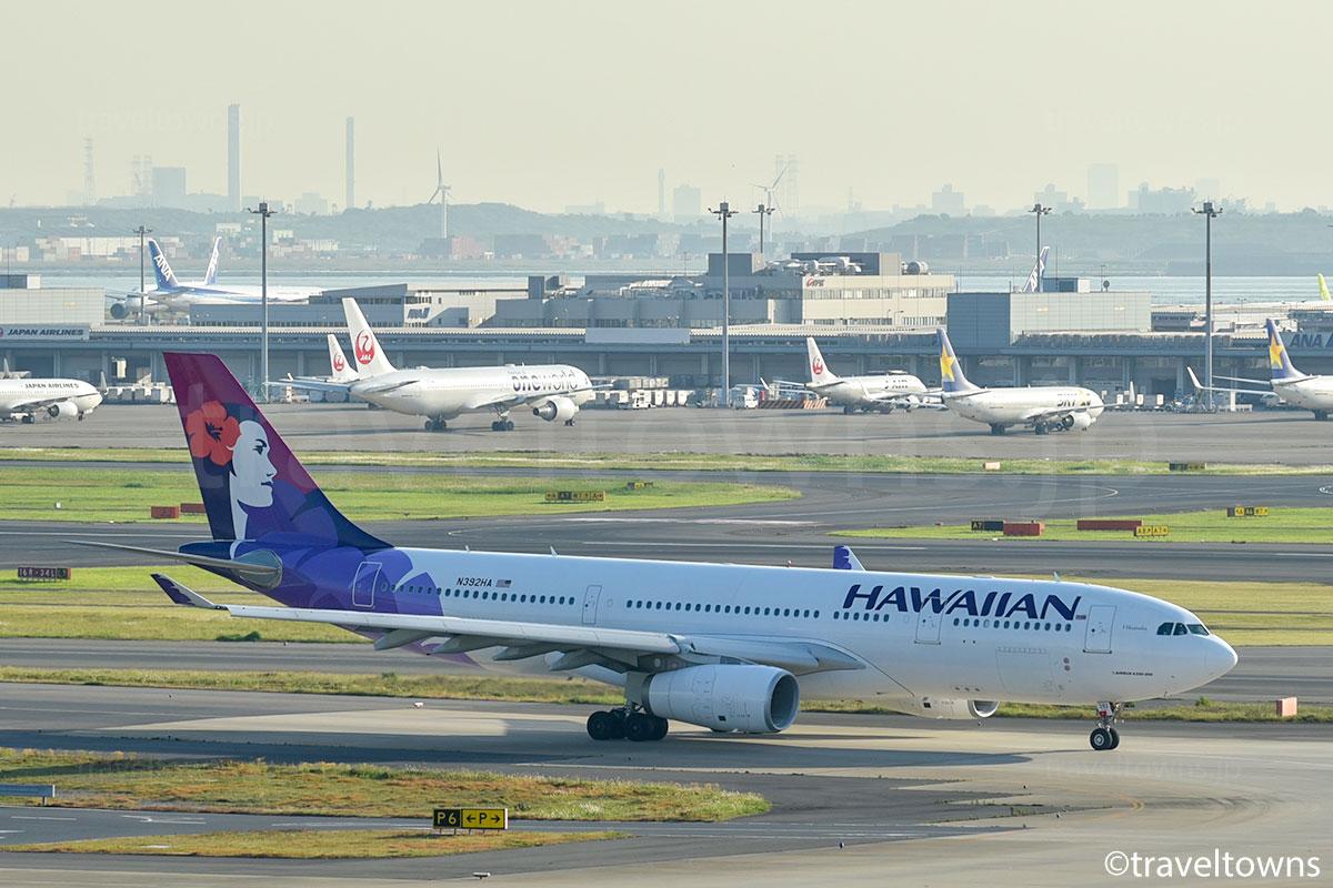 ハワイアン航空の写真