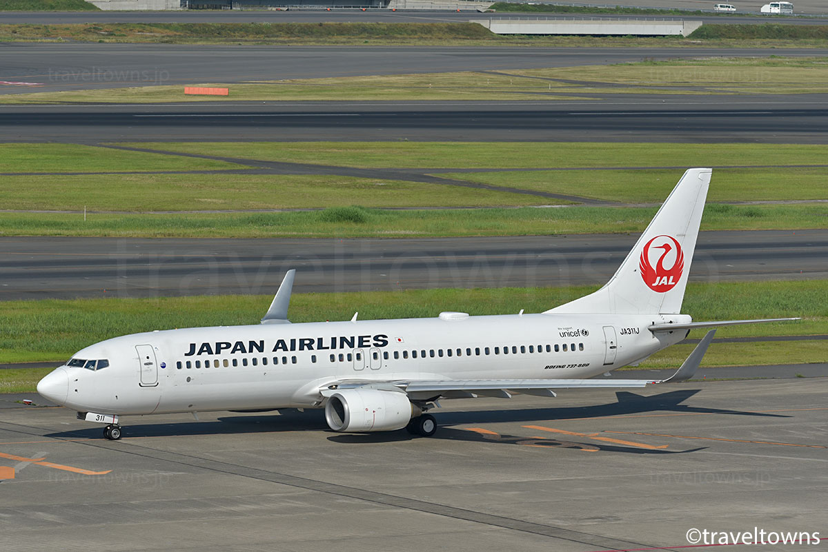 JAL,B737-800,JA311J,羽田空港