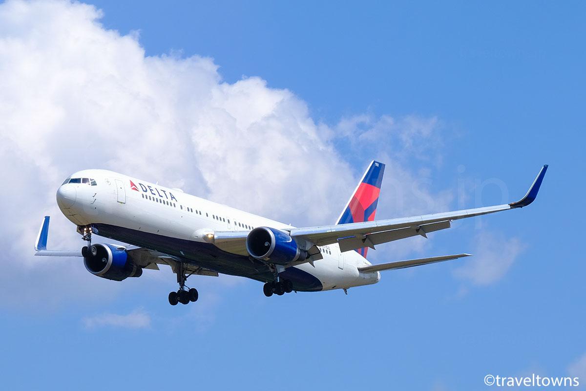 デルタ航空の写真