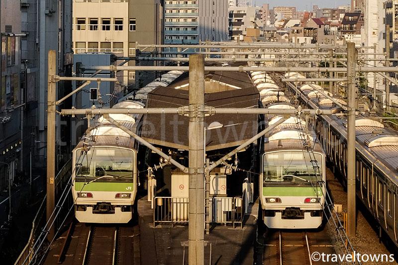 大塚駅に発着する山手線E231系500番台