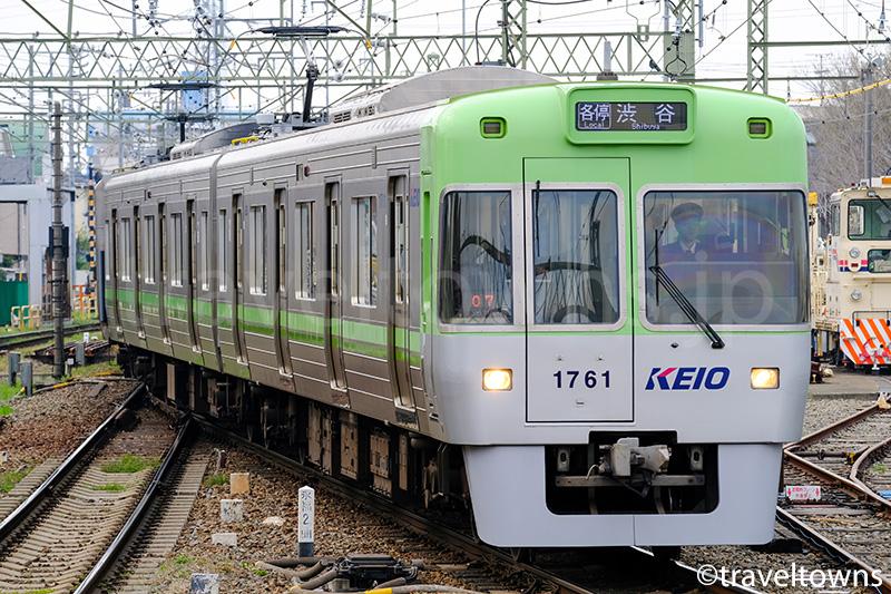 京王井の頭線の渋谷行き