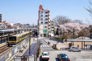 JR中央・総武線各駅停車 三鷹駅からの所要時間