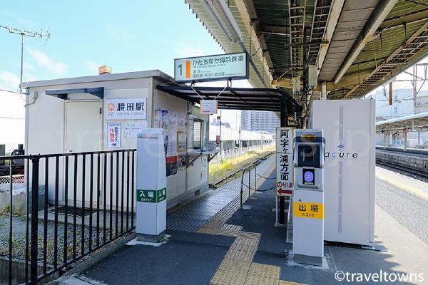 ひたちなか海浜鉄道湊線の勝田駅