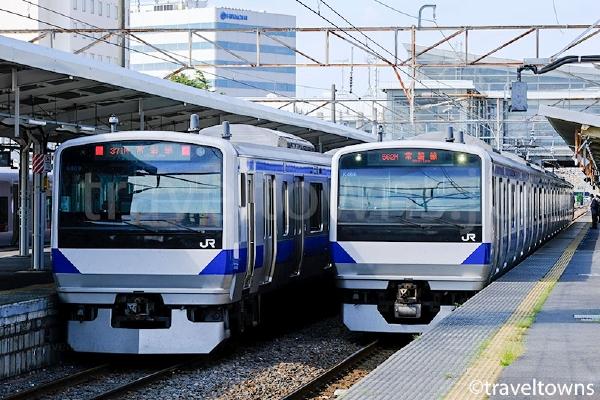 JR常磐線のE531系