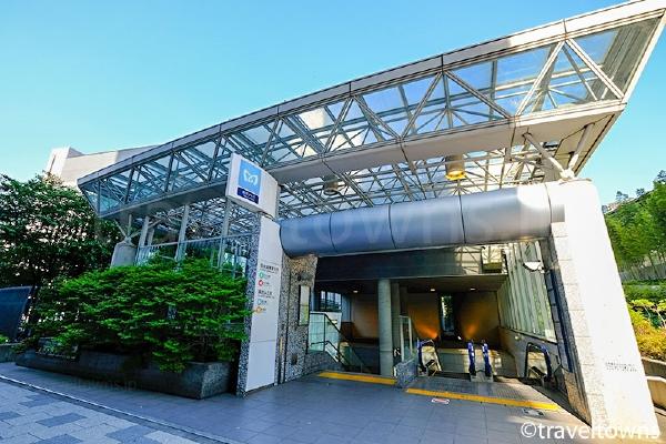 国会議事堂前駅・溜池山王駅のザ・キャピトルホテル東急前の出入口