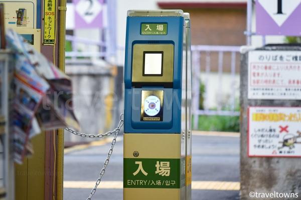 SuicaやPASMOなどの交通系ICカードが利用できる