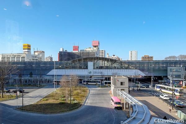 武蔵小金井駅の南口ロータリー