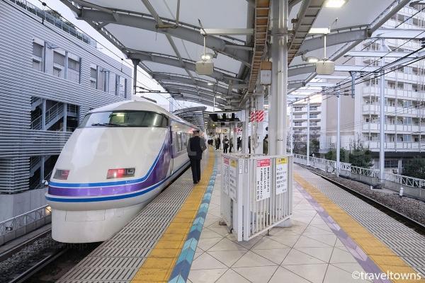 とうきょうスカイツリー駅からは浅草行き特急に、特急券不要で乗車できる