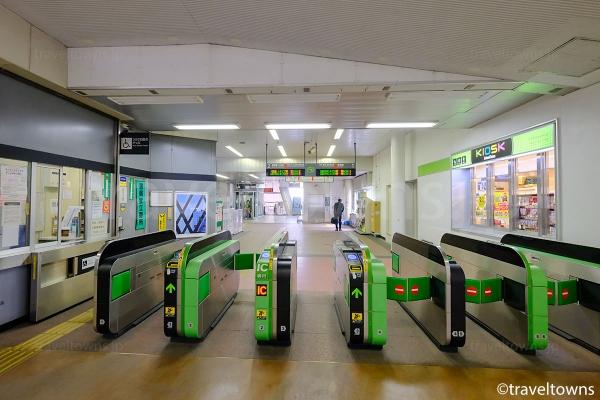 羽村駅の改札口