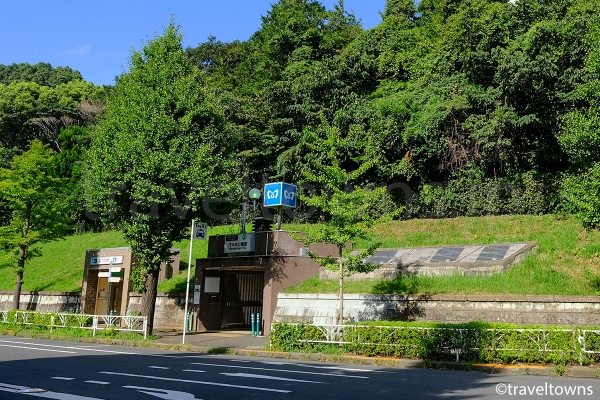 代々木公園側にある4番出入口