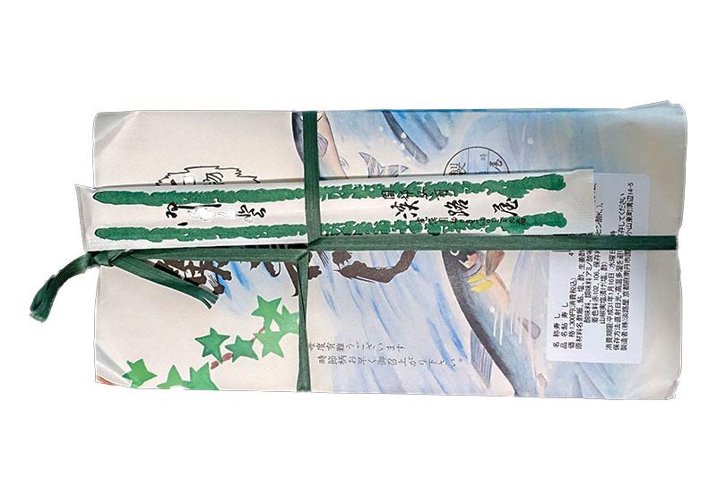 駅弁「鮎寿し」のパッケージ