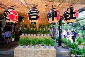 千日詣り ほおづき縁日(愛宕神社)
