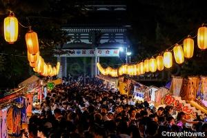 大本山總持寺 み霊祭り納涼盆踊り花火大会