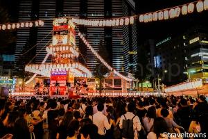 恵比寿駅前盆踊り
