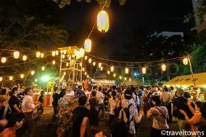 花園神社 盆踊り