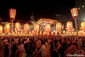 築地本願寺納涼盆踊り大会