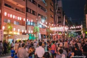 柳橋納涼盆踊り大会