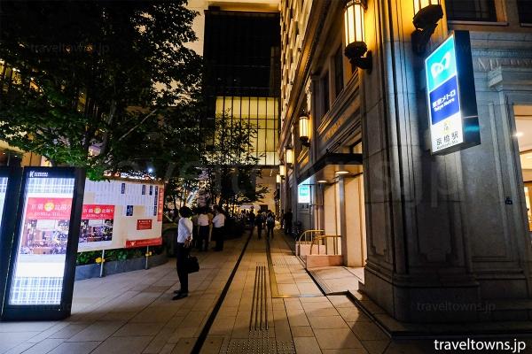 会場は東京メトロ「京橋駅」7番出入口が便利、徒歩の場合は明治屋が目印