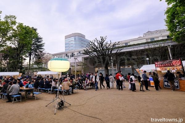 会場は武蔵境駅南口すぐの境南ふれあい広場公園