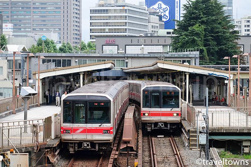 四ツ谷駅を発着する東京メトロ丸ノ内線
