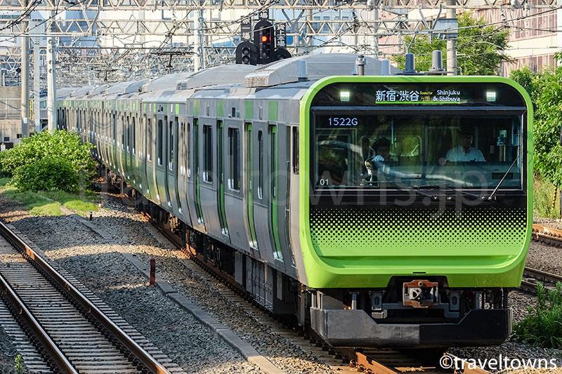 JR山手線の電車
