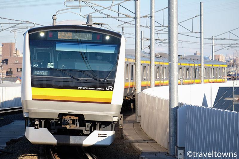 JR南武線の電車