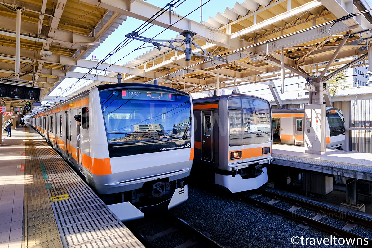 JR中央線の電車