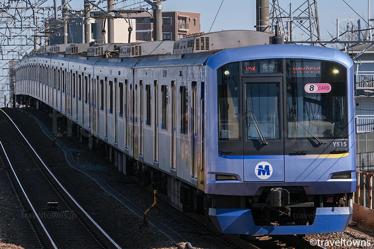 東武東上線に直通運転するみなとみらい線のY500系