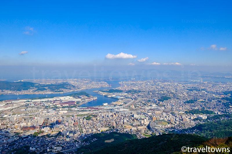 皿倉山 山頂展望台