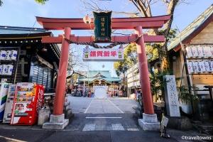 四谷須賀神社(アニメ『君の名は。』に登場)