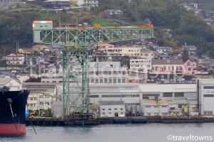 ジャイアント・カンチレバークレーン(三菱長崎造船所)