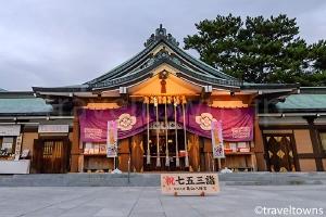 関の氏神 亀山八幡宮