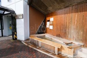 ぽっぽの足湯(鳴子温泉駅)