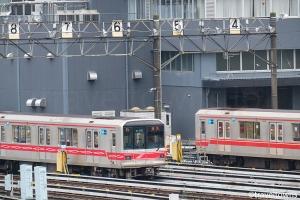 東京メトロ 中野車両基地