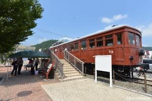 富士山麓電気鉄道モ1形電車 モ1号