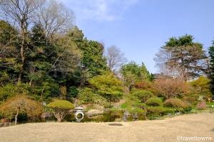 菅刈公園和館と復原庭園