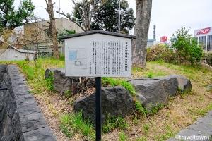 市ヶ谷御門橋台の石垣石