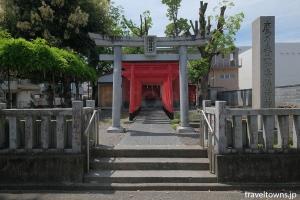 鷹乃森二加番稲荷神社